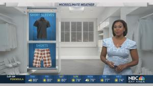 <p>Meteorologist Kari Hall has details in the Microclimate Forecast.</p>