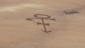 Farmer Plows Prince's Symbol in Field