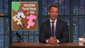 Seth Skewers the Bad Sponsors of 'Late Night'