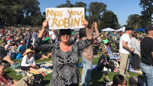 New Robin Williams Meadow Celebrates Storied Comedian
