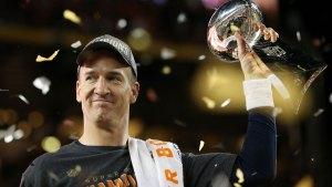 Broncos QB Peyton Manning Stops at Disneyland