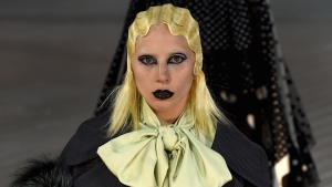 Lady Gaga Walks in Marc Jacobs Show to Close Out NYFW