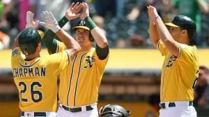 A's Knock Three Home Runs in Win Over Orioles