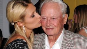 Paris Hilton Mourns Death of Grandfather Barron Hilton