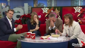 News Team Gags on Artichoke Dip Gone 'Terribly Wrong'