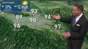 <p>Temperatures will warm again as we head into Saturday.  Chief Meteorologist Jeff Ranieri has more on where temperatures could reach near 100 in your Microclimate Forecast.</p>