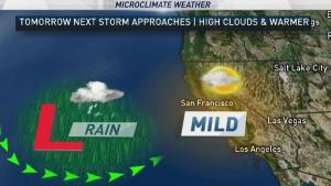 <p>While dry weather is back for the morning commute, we&rsquo;ll have 2 new chances of rain this week.  Chief Meteorologist Jeff Ranieri tracks this in your Microclimate Forecast.</p>
