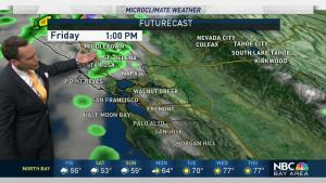 <p>Chief Meteorologist Jeff Ranieri tracks the possibility of rain into the weekend and how much we&rsquo;ll get over the next 3 days in your Microclimate Forecast.</p>