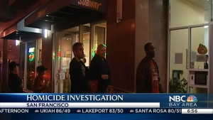 Woman Shot to Death in San Francisco, Person of Interest Questioned