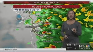 NBC Bay Area Meteorologist Kari Hall takes a look at your Wednesday's Microclimate Forecast.