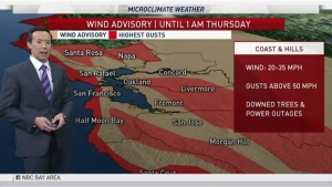 Our first in a series of storms has arrived. Meteorologist Rob Mayeda shows how long the wet weather will last with your microclimate forecast.