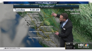 <p>We&rsquo;ll keep a slight chance of showers in the forecast the next 2 days.  Chief Meteorologist Jeff Ranieri has more on this and much warmer 80s ahead in your Microclimate Forecast.</p>