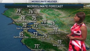 <p>Expect dry weather with a warm start to the week. It will cool off tomorrow with high fire danger. Meteorologist Kari Hall has details in the Microclimate Forecast.</p>