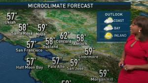 <p>A weak and quick moving cold front will bring spotty rain to parts of the Bay Area. Meteorologist Kari Hall has the details in the Microclimate Forecast.</p>