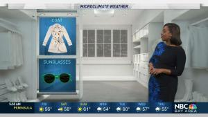 <p>A chilly and dry weekend is ahead with more rain next week. Meteorologist Kari Hall has details in the Microclimate Forecast.</p>