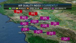 <p>The worst air quality continues due to lack of wind. Rain chances enter the 7 day forecast.  Meteorologist Kari Hall has details in the Microclimate Forecast.</p>