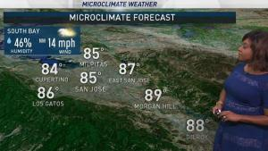 <p>Clouds linger near the coast today with slightly cooler temperatures inland. Meteorologist Kari Hall has the details in the Microclimate Forecast.</p>