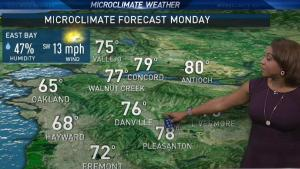 <p>Meteorologist Kari Hall previews a Memorial Day forecast packed with sunshine and breezy conditions.</p>