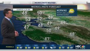 <p>Strong high pressure will build across the Bay Area this week, progressively boosting temperatures through Wednesday. Look for some 80s possible inland starting Monday. Meteorologist Rob Mayeda has your Microclimate Forecast.</p>