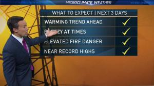 <p>It might be October, but a warming trend will bring summer-like heat to the Bay Area early this week.</p>