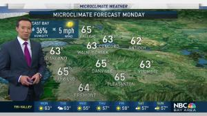 <p>After a windy weekend with rare fire danger issues for mid-December the work will start out dry but we&rsquo;ll finally see a chance for some rain late Tuesday evening in the North Bay and into early Wednesday morning across the rest of the Bay Area. Meteorologist Rob Mayeda has your Microclimate Forecast.</p>