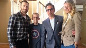 'Avengers' Stars Surprise Cancer-Stricken Student