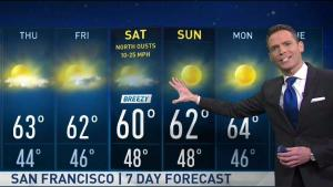 <p>Calm on Wednesday with plenty of sunshine but Chief Meteorologist Jeff Ranieri is tracking when winds could increase and how much longer until more rain arrives in your Microclimate Forecast.</p>