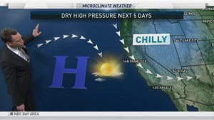 <p>Dry weather is expected the next few days but a new storm could hit by the weekend. Chief Meteorologist Jeff Ranieri tracks the timing and how much in your Microclimate Forecast.</p>