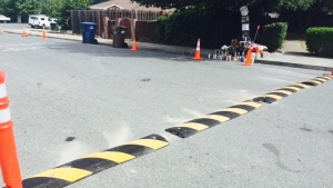 Antioch Citizens Install Their Own Speed Bump