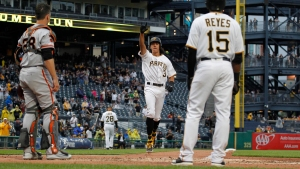 Giants Lose on Cole Tucker's First Career Homer, PNC Park Lightning Policy