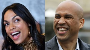 Cory Booker Confirms Rosario Dawson Relationship