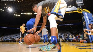 Curry's 'Ghostship' Sneakers Raise Over $45K