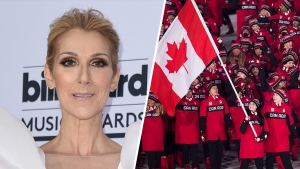 Team Canada Belts Out Celine Dion Hit on Olympic Tour Bus
