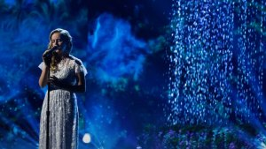 Evie Clair Returns to 'AGT,' Performs Tribute to Late Father