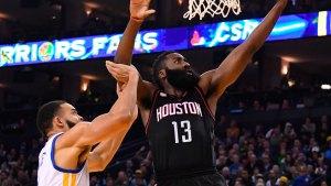 Warriors' Win Streak Blown Up by Rockets in 2OT