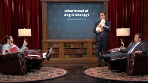 Jared Leto Battles Jimmy Fallon on Puppy Quiz