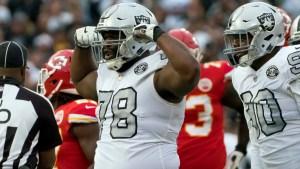 Return of Ellis Has Boosted Raiders' Run Defense