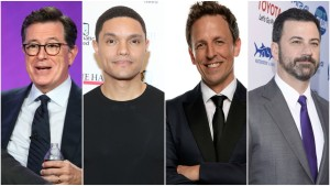 Late Night Hosts Slam Trump for 'S--thole Countries' Remark