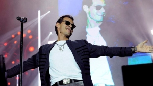 Marc Anthony Cries in Concert Over Juan Gabriel's Death