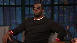 'Late Night': 'Diddy' Talks 'The Four: Battle for Stardom'