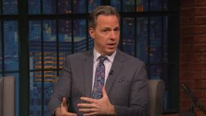 'Late Night': Tapper Speculates on Outcome of Russia Probe