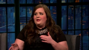 'Late Night': Aidy Bryant's Cat Café Experience