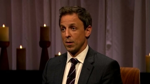 Kristen Wiig and Seth Meyers Clear the Air