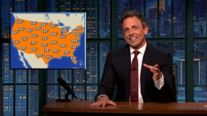 'Late Night': Look at Extreme Weather, Climate Change