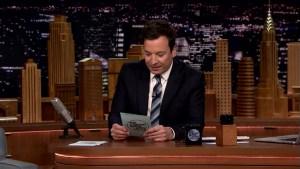 'Tonight': Fallon Reads #SummerRaps