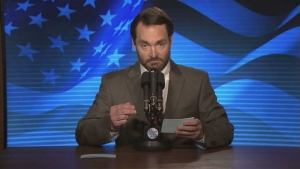 'Tonight': Candidate Tim Calhoun (Will Forte)