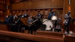 'Tonight Show': Freestylin' With The Roots