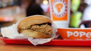 Popeyes' Chicken Sandwich to Return in November