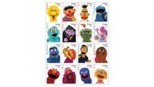 U.S. Postal Service Reveals 'Sesame Street' Stamps for 2019