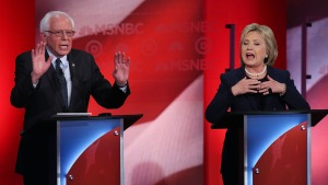 Fact-Checking Sanders' and Clinton's Claims About Wall Street and Campaign Finance